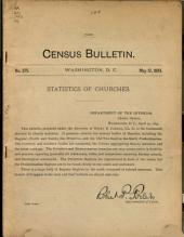 Census Bulletin: Issue 375