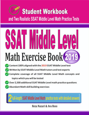 SSAT Middle Level Math Exercise Book