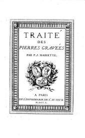 Traite Des Pierres Gravees: 1