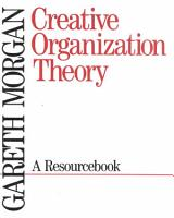 Creative Organization Theory PDF