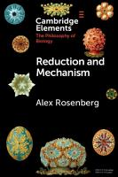Reduction and Mechanism PDF