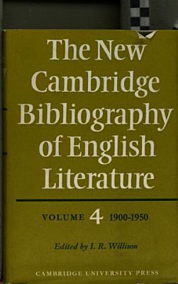 The New Cambridge Bibliography of English Literature PDF