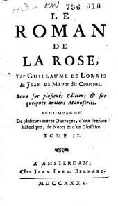 Le roman de la rose: Volume2