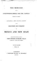 The Memoirs of the Conquistador Bernal Diaz Del Castillo PDF