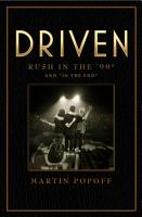 Driven  Rush in the    90s and    In the End    PDF