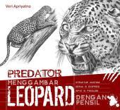 Menggambar Leopard dengan pensil