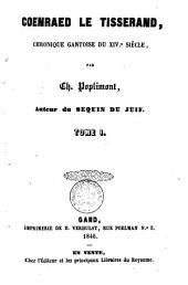 Coenraed le Tisserand: chronique Gantoise du XIVe siècle