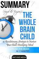 Siegel and Bryson's the Whole-Brain Child