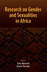 Research on Gender and Sexualities in Africa PDF