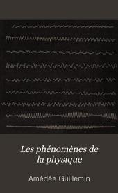 Les phénomènes de la physique
