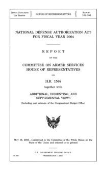 National Defense Authorization Act for Fiscal Year 2004 PDF