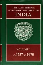 The Cambridge Economic History of India: Volume 2, C.1757-c.1970