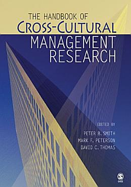 The Handbook of Cross Cultural Management Research PDF