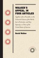 Walker s Appeal  in Four Articles PDF