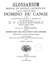 Glossarium mediae et infimae latinitatis: F-K (1885)