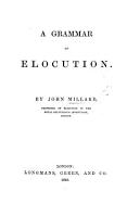 A Grammar of Elocution PDF