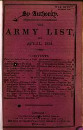 A List of the General and Field Officers as They Rank in the Army: Of the Officers in the Several Regiments of Horse, Dragoons, and Food on the British (and Irish) Establishment...