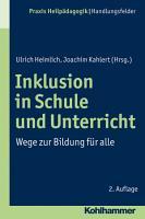 Inklusion in Schule und Unterricht PDF
