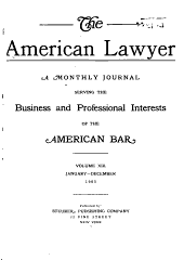 The American Lawyer: Volume 13