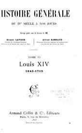 Histoire générale du IVe siècle à nos jours: Volume6