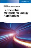 Ferroelectric Materials for Energy Applications PDF