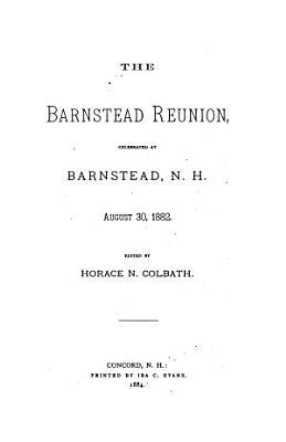 The Barnstead Reunion