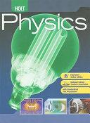 Holt Physics Book