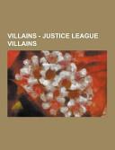 Villains - Justice League Villains