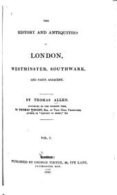 """A new history of London & Westminster""; v. 2-4, ""A new history of London, Westminster and the borough of Southwark."""