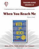 When You Reach Me Teacher Guide PDF