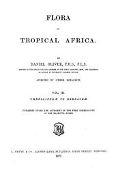 Flora of Tropical Africa: Volume 3