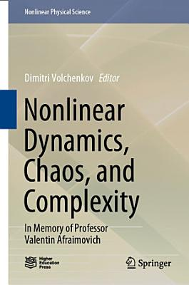 Nonlinear Dynamics  Chaos  and Complexity PDF