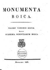Monumenta Boica: Volume 26