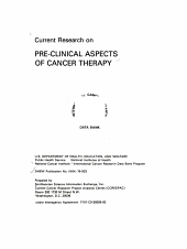 Current Research on Pre-clinical Aspects of Cancer Therapy
