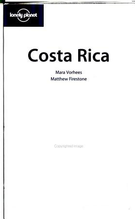 Costa Rica  a Travel Survival Kit PDF