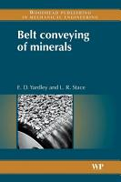 Belt Conveying of Minerals PDF