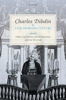 Charles Dibdin and Late Georgian Culture PDF