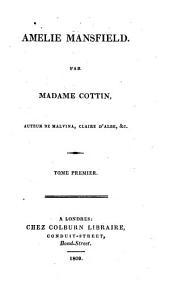 Amelia Mansfield: A Novel, Volume 1