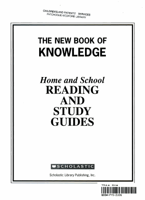 Home and School Reading and Study Guides