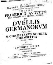 De Dvellis Germanorvm