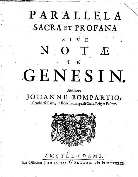 Download Parallela sacra et profana  sive not   in Genesin Book