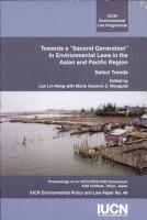 Towards a  second Generation  in Environmental Laws in the Asian and Pacific Region PDF