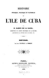 Reptiles de l'ile de Cuba