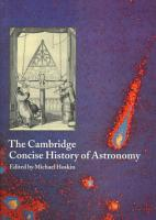 The Cambridge Concise History of Astronomy PDF