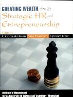 Creating Wealth Through Strategic Hr And Entrepreneurship PDF