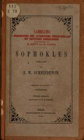 Sophokles: Antigone, Band 1