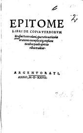 Epitome libri de copia verborum