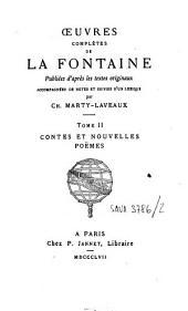 Oeuvres complètes: Contes et nouvelles, poëmes. T. 2