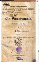 Die Gouvernante  Charakterbild in 3 Akten PDF