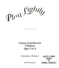 Play Lightly on the Earth PDF